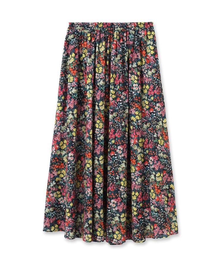 DRESSTERIOR(Ladies)(ドレステリア(レディース))フラワープリントフレアスカート