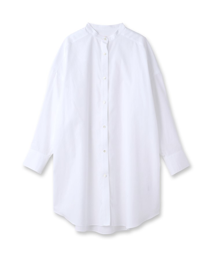 DRESSTERIOR(Ladies)(ドレステリア(レディース))スタンドカラーロングシャツ