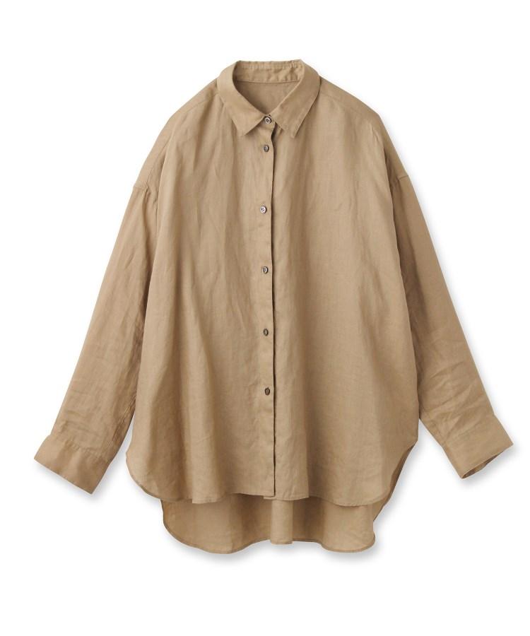 DRESSTERIOR(Ladies)(ドレステリア(レディース))フレンチリネンビッグシャツ