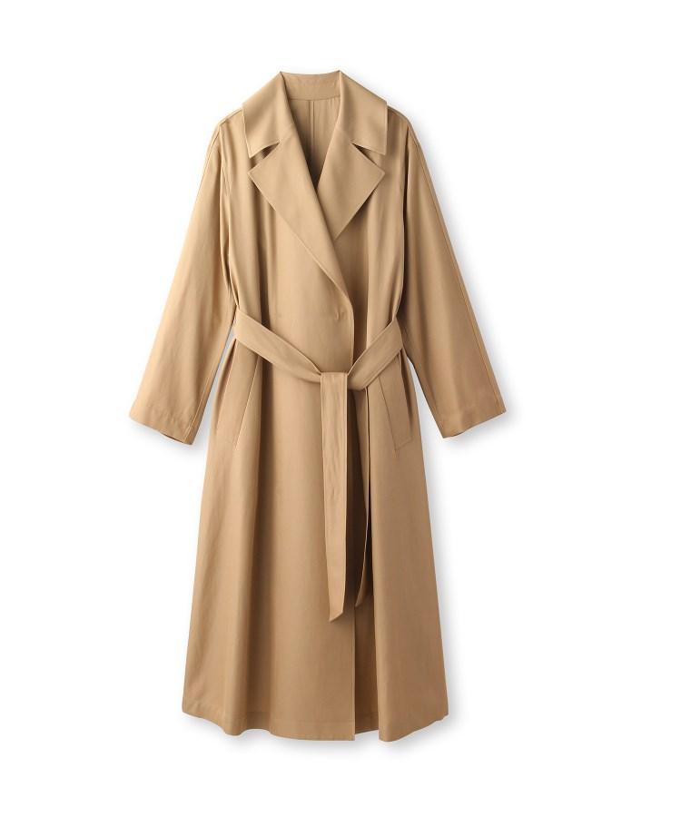 DRESSTERIOR(Ladies)(ドレステリア(レディース))プラチナホース強撚綿ツイルワッシャーコート