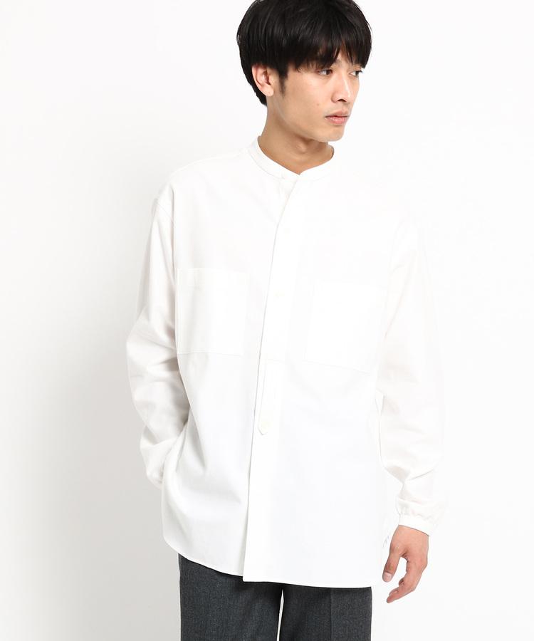 DRESSTERIOR(Men)(ドレステリア(メンズ))【洗える】Violet Buffalo Wallowsシャンブレーワークシャツ