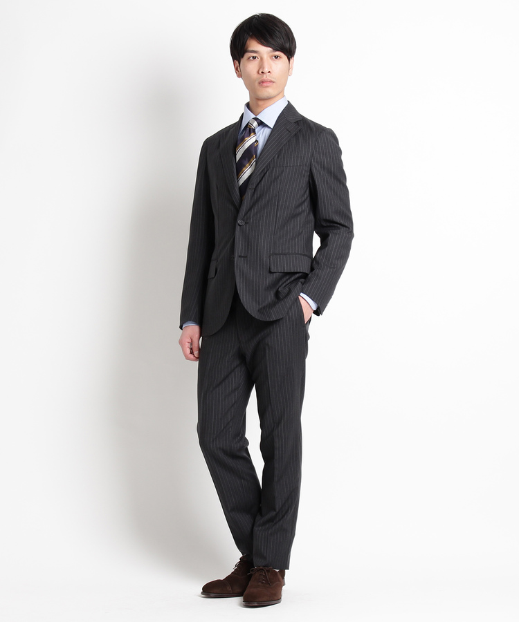 DRESSTERIOR(Men)(ドレステリア(メンズ))REDA オルタネイトストライプスーツ