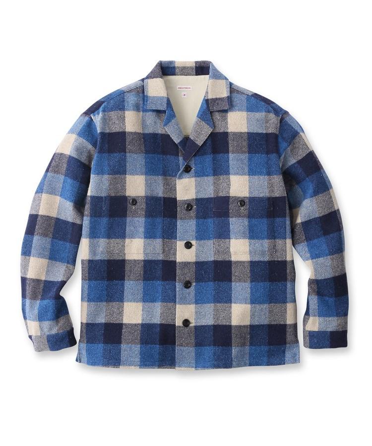DRESSTERIOR(Men)(ドレステリア(メンズ))ネルブロックチェックシャツ