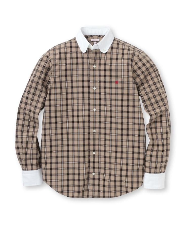 DRESSTERIOR(Men)(ドレステリア(メンズ))クレリックコットンボタンダウンシャツ