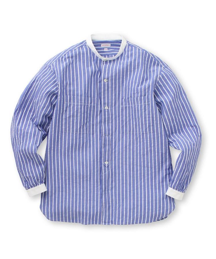 DRESSTERIOR(Men)(ドレステリア(メンズ))シアサッカーストライプシャツ