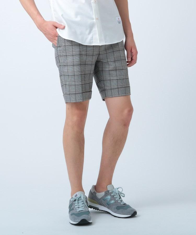 DRESSTERIOR(Men)(ドレステリア(メンズ))グレンチェックショートパンツ