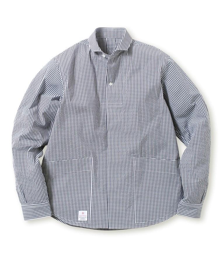 DRESSTERIOR(Men)(ドレステリア(メンズ))COOLMAX(R) サッカーギンガムチェックシャツ
