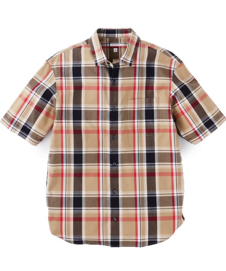 DRESSTERIOR(Men)(ドレステリア(メンズ))【洗える】イージーケアチェックシャツ