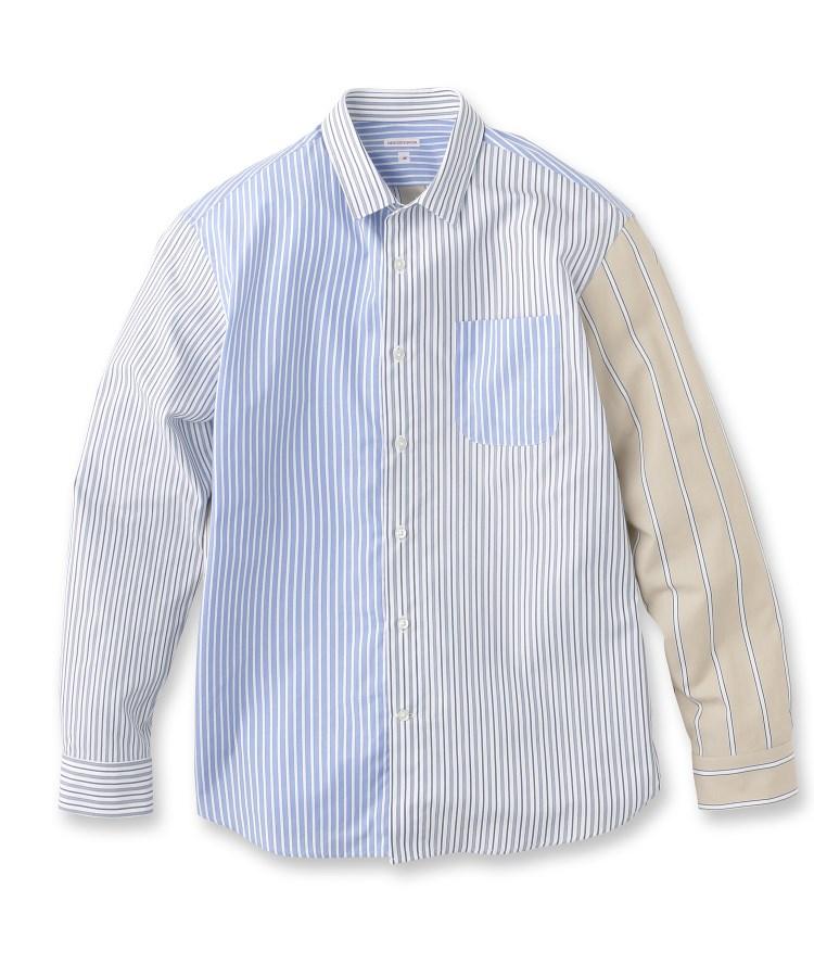 DRESSTERIOR(Men)(ドレステリア(メンズ))【洗える】ストライプクレイジーシャツ