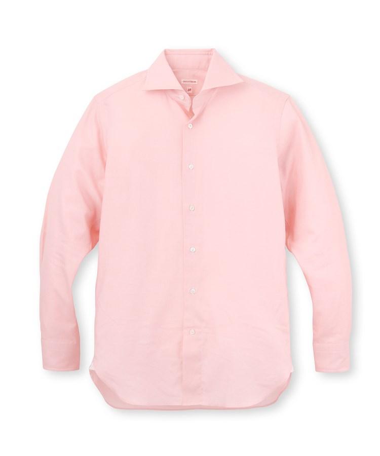 DRESSTERIOR(Men)(ドレステリア(メンズ))コットンツイルホリゾンタルシャツ