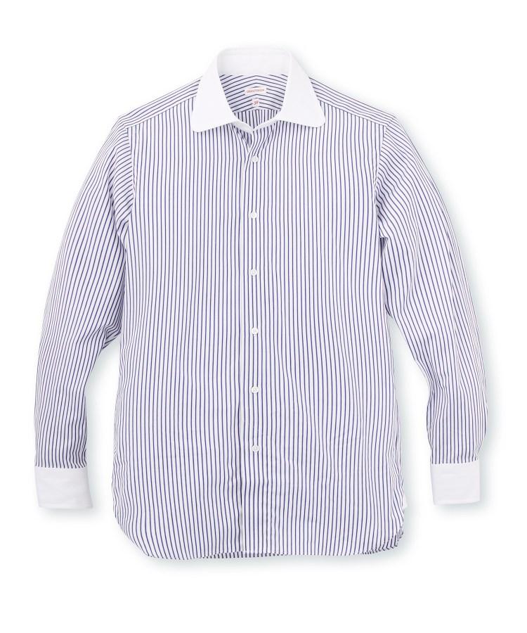 DRESSTERIOR(Men)(ドレステリア(メンズ))クレリックストライプシャツ
