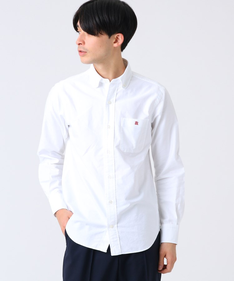 DRESSTERIOR(Men)(ドレステリア(メンズ))ラウンドカラーボタンダウンシャツ