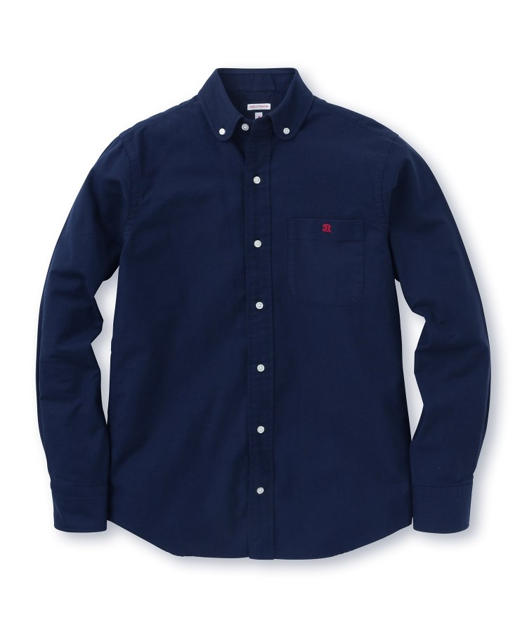 DRESSTERIOR(Men)(ドレステリア(メンズ))ラウンドヘムボタンダウンシャツ