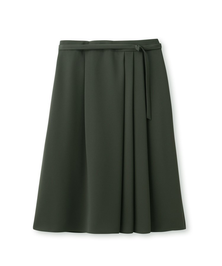 Reflect(リフレクト)【WEB限定カラー】ベルト付きフリュイドスカート
