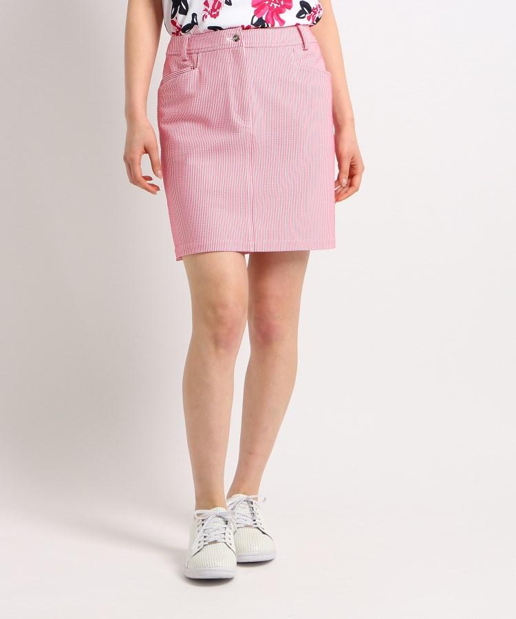 adabat(Ladies)(アダバット(レディース))サッカーストライプタイトスカート