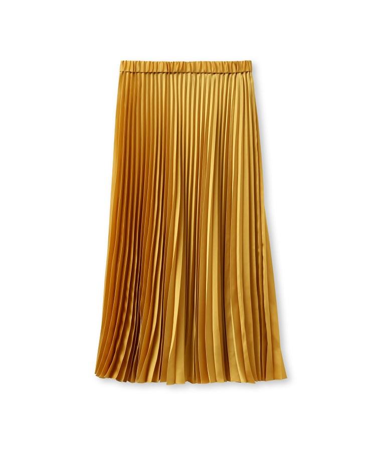 INDIVI(インディヴィ)[S]ライトプリーツスカート