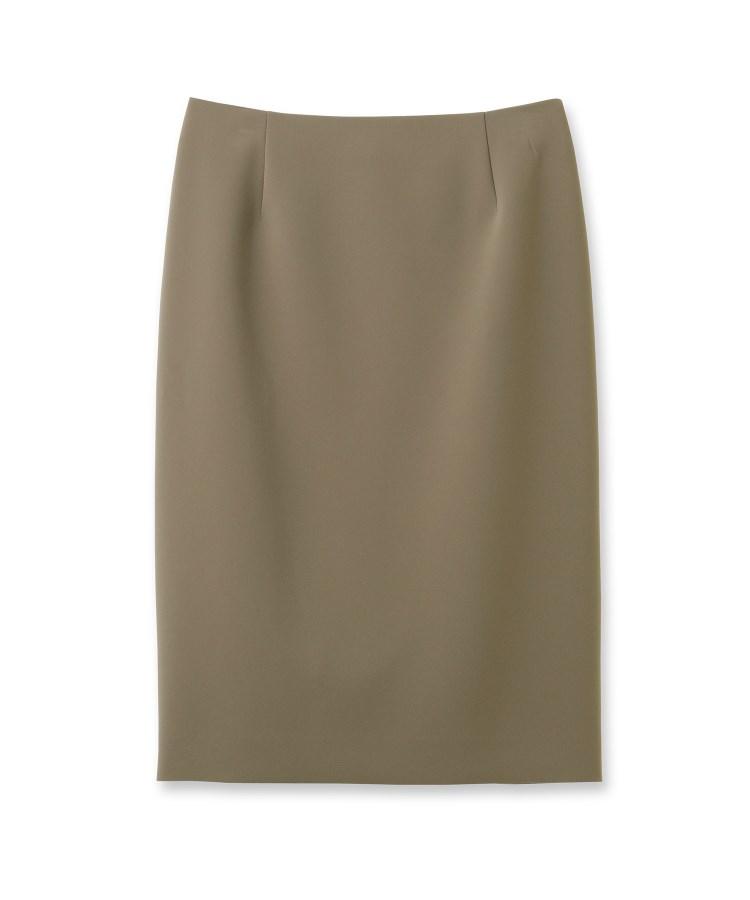 INDIVI(インディヴィ)[L]【マシンウォッシュ/UV】ハイストレッチタイトスカート
