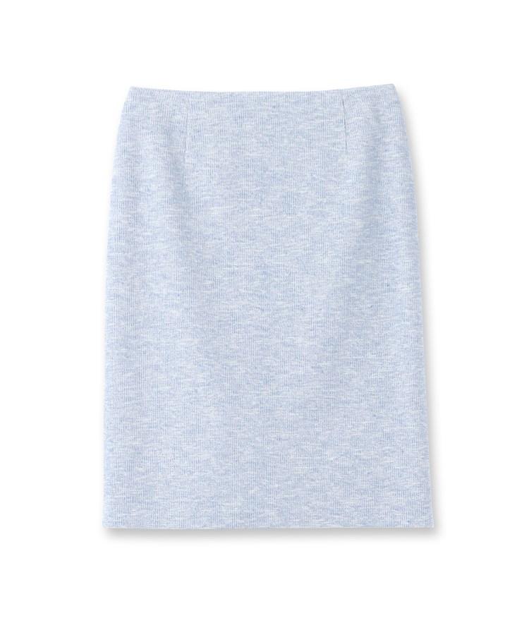 INDIVI(インディヴィ)【ママスーツ/入学式 スーツ/卒業式 スーツ】ツィーディージャージタイトスカート