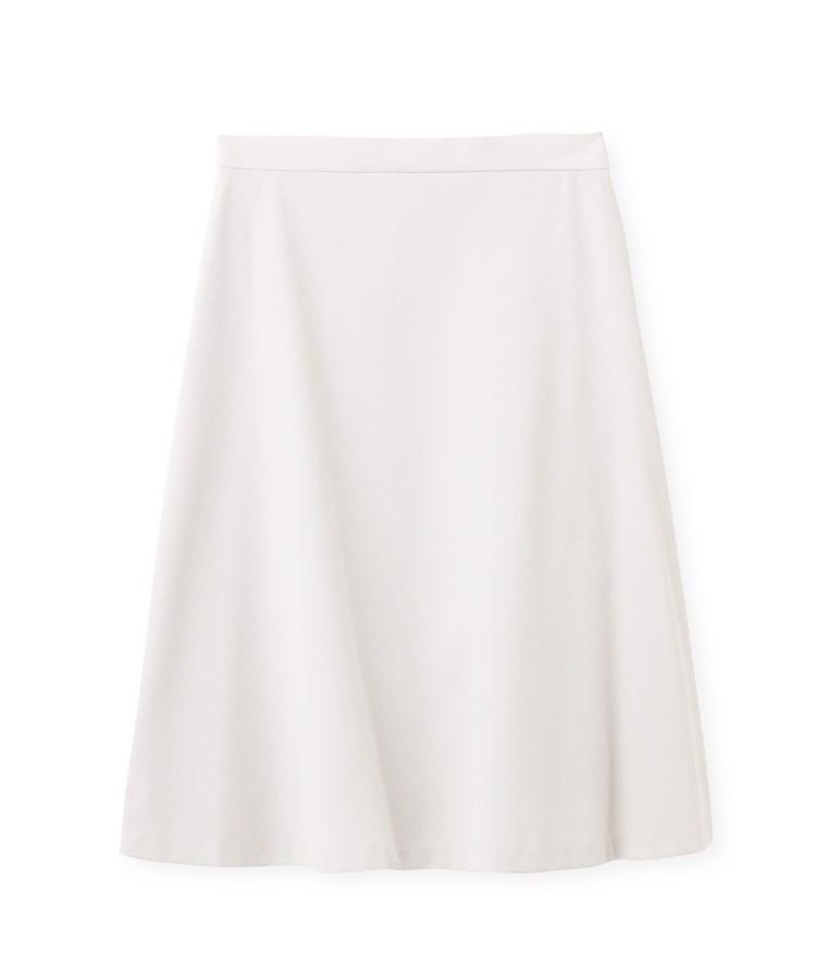 INDIVI(インディヴィ)[L]【ハンドウォッシュ】ハイゲージピケストレッチスカート