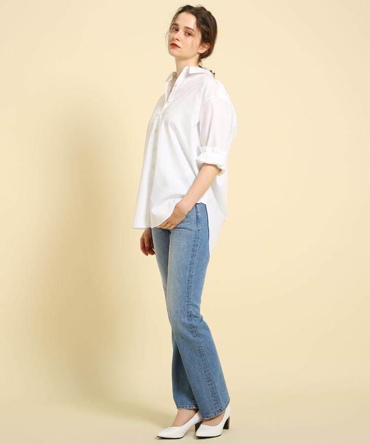 aquagirl(アクアガール)ハイカウントオーバーシャツ
