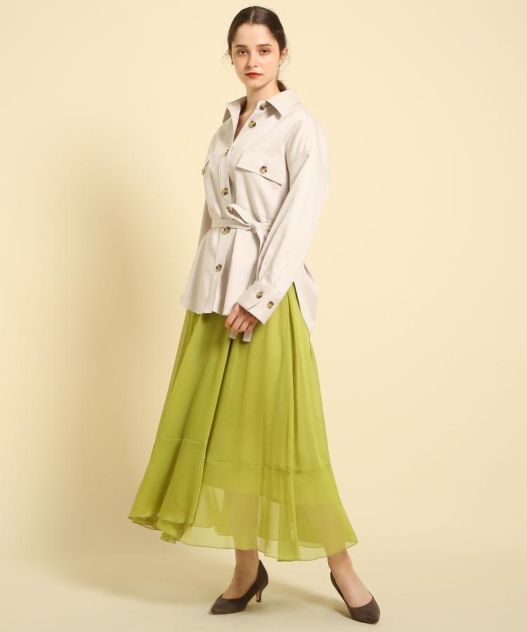 aquagirl(アクアガール)シアーフレアーラップスカート