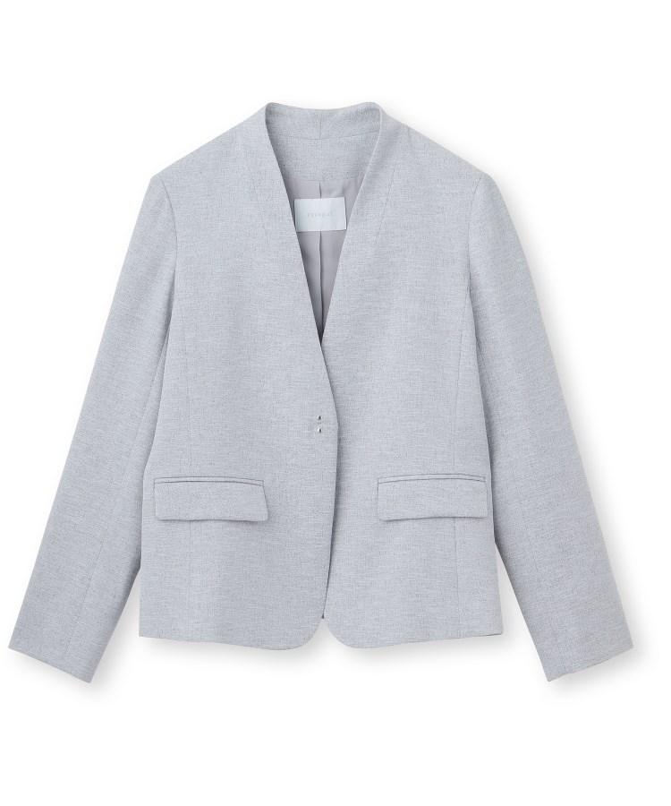 aquagirl(アクアガール)【ママスーツ/入学式 スーツ/卒業式 スーツ】カラーレスジャケット
