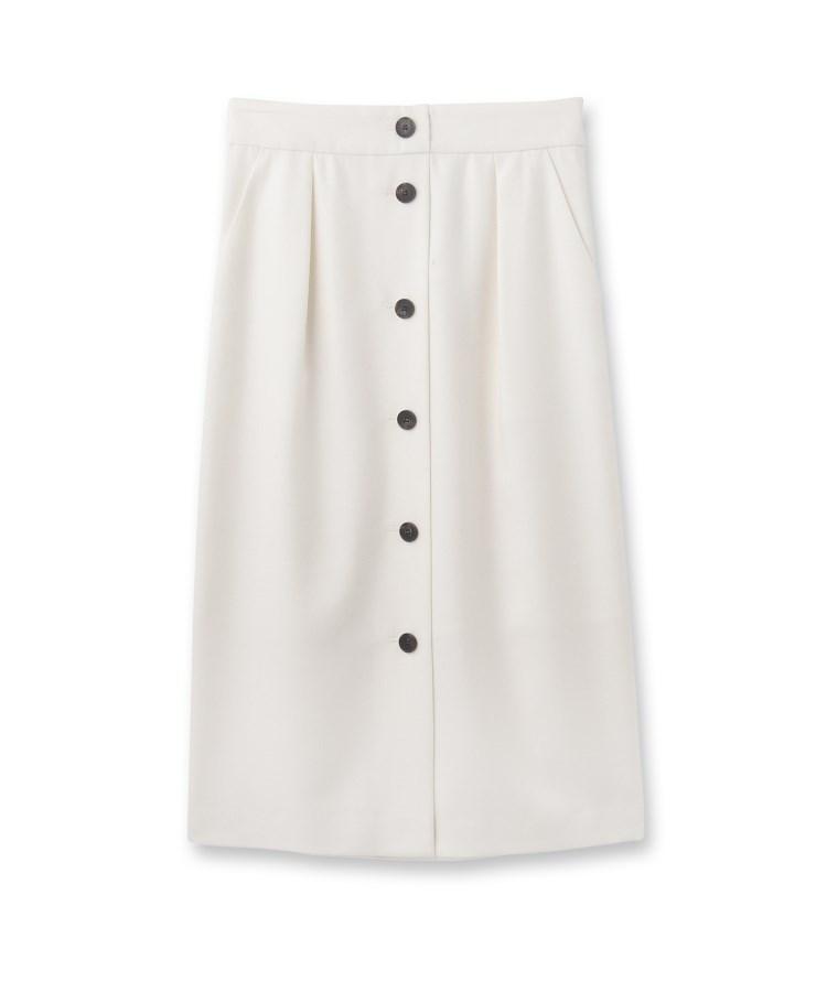 UNTITLED(アンタイトル)フロントボタンナロースカート