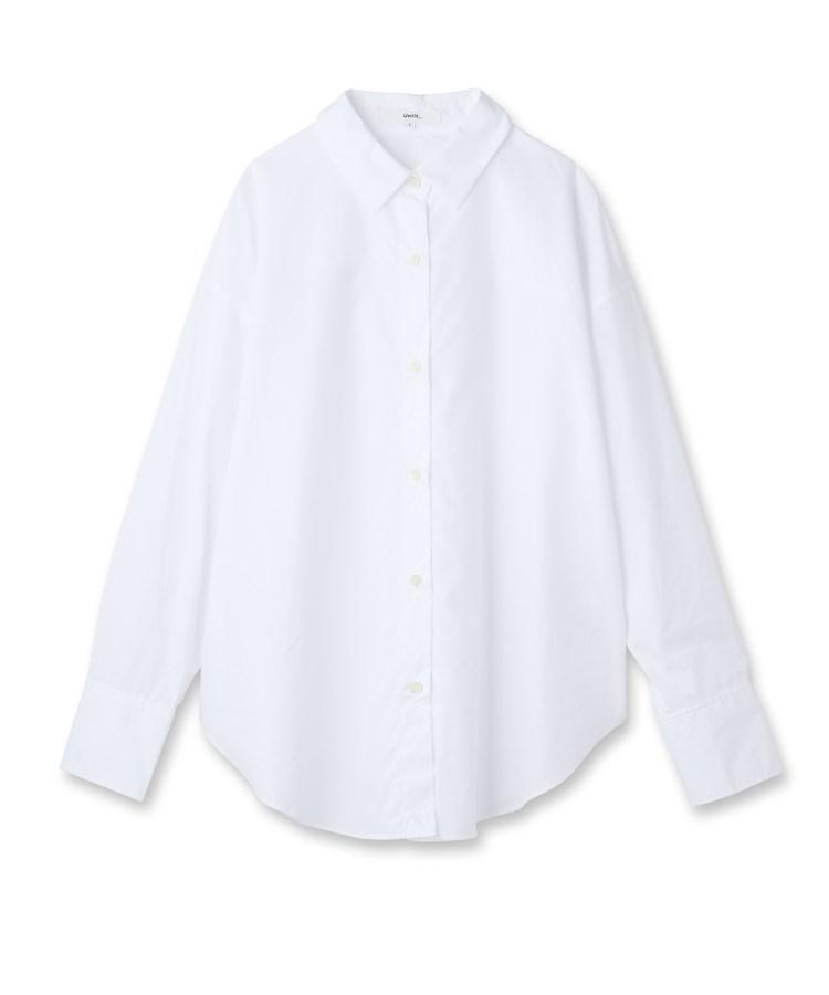 Untit_(アンティット)【洗える】コットンブロードシャツ