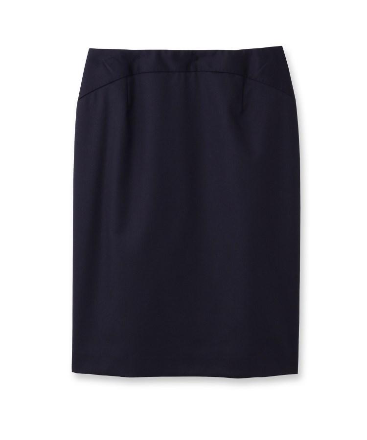 UNTITLED(アンタイトル)[L]ティエラウールステッチタイトスカート