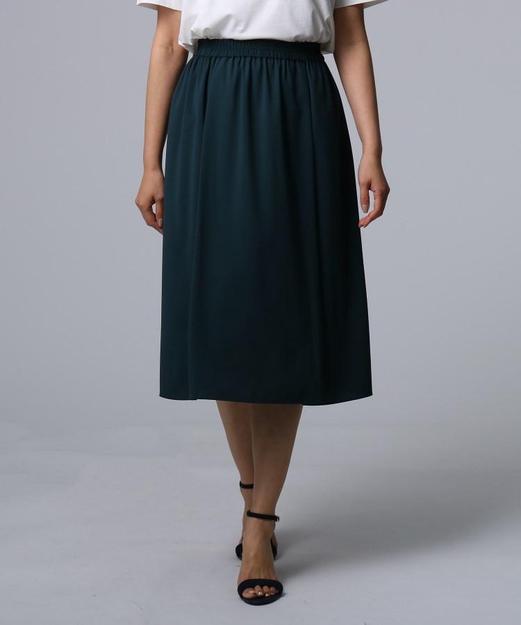 UNTITLED(アンタイトル)[L]【洗える】ウエストギャザースカート