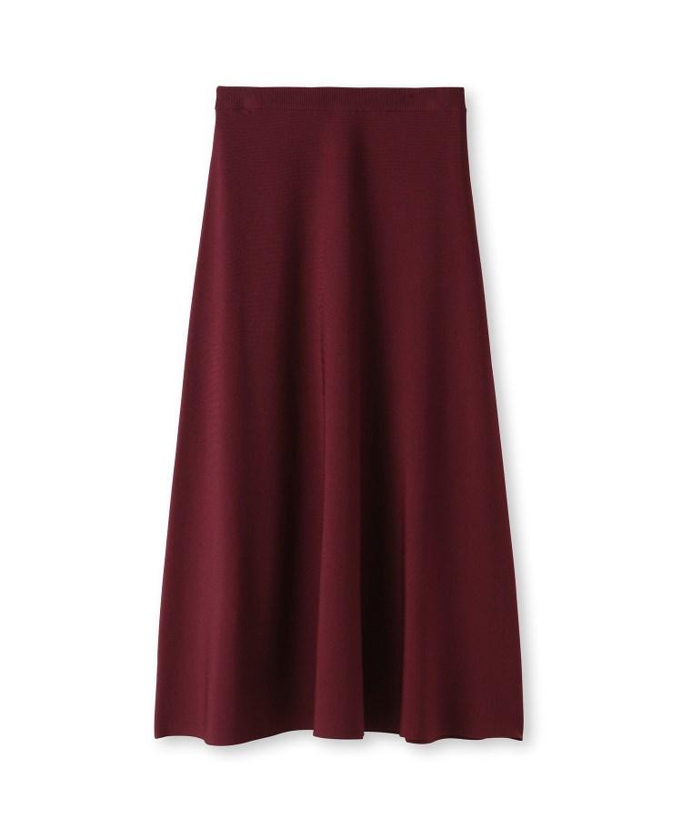 UNTITLED(アンタイトル)[L]レーヨンストレッチニットスカート
