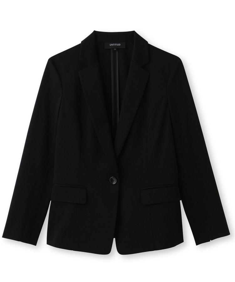 UNTITLED(アンタイトル)[L]【洗える・消臭・UVカット・接触冷感】テーラードジャケット