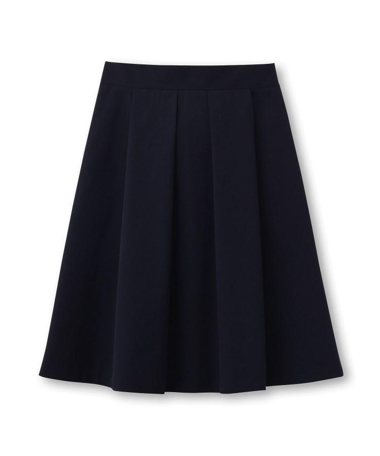 UNTITLED(アンタイトル)【洗える・撥水】ストレッチタックフレアスカート