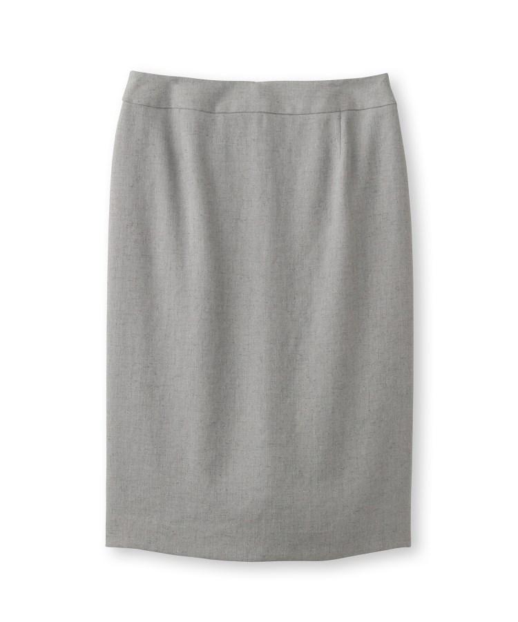 UNTITLED(アンタイトル)[L]【洗える・抗菌防臭】ドレッサーアーステックリネン タイトスカート