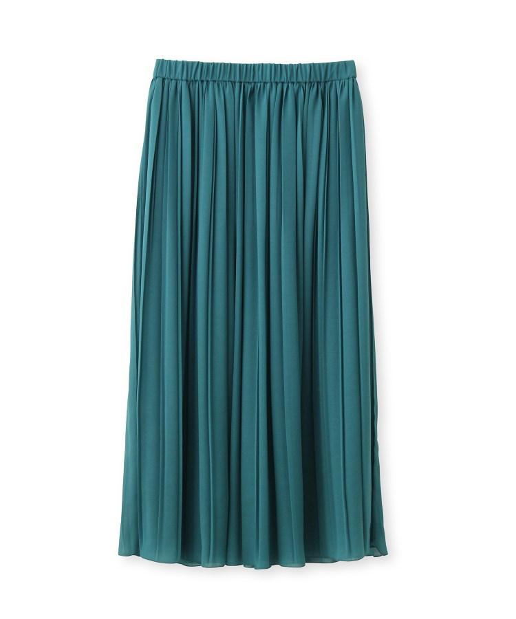UNTITLED(アンタイトル)[L]【洗える】シフォンプリーツスカート