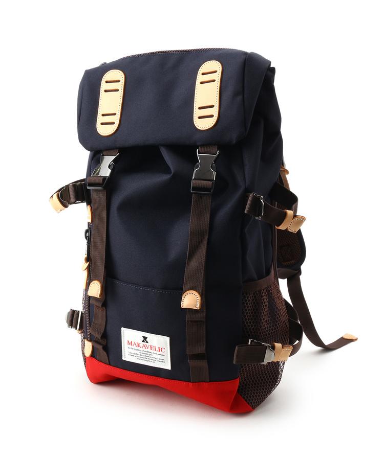 tk.TAKEO KIKUCHI(ティーケー タケオ キクチ)MAKAVELIC DOUBLE BELT ZONE デイバッグ