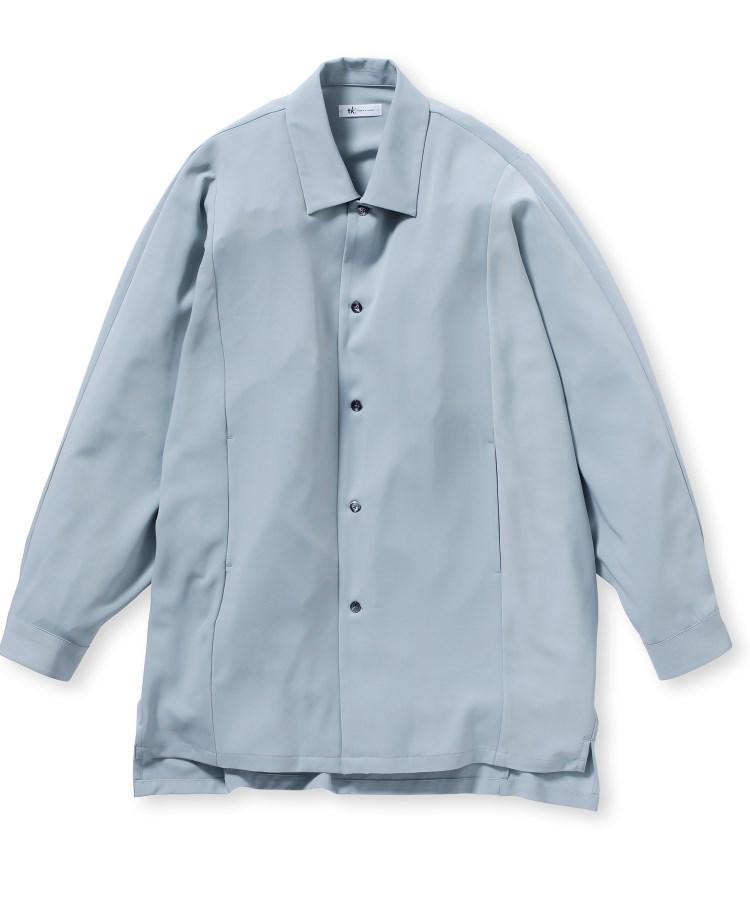 tk.TAKEO KIKUCHI(ティーケー タケオ キクチ)360度ストレッチドルマンスリーブシャツ