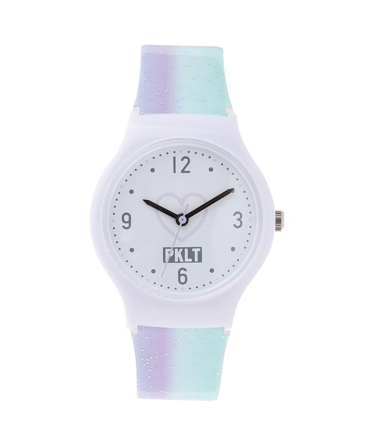 ≪ファッション雑貨,腕時計≫ PINK-latte(ピンク ラテ)ストライプウォッチ