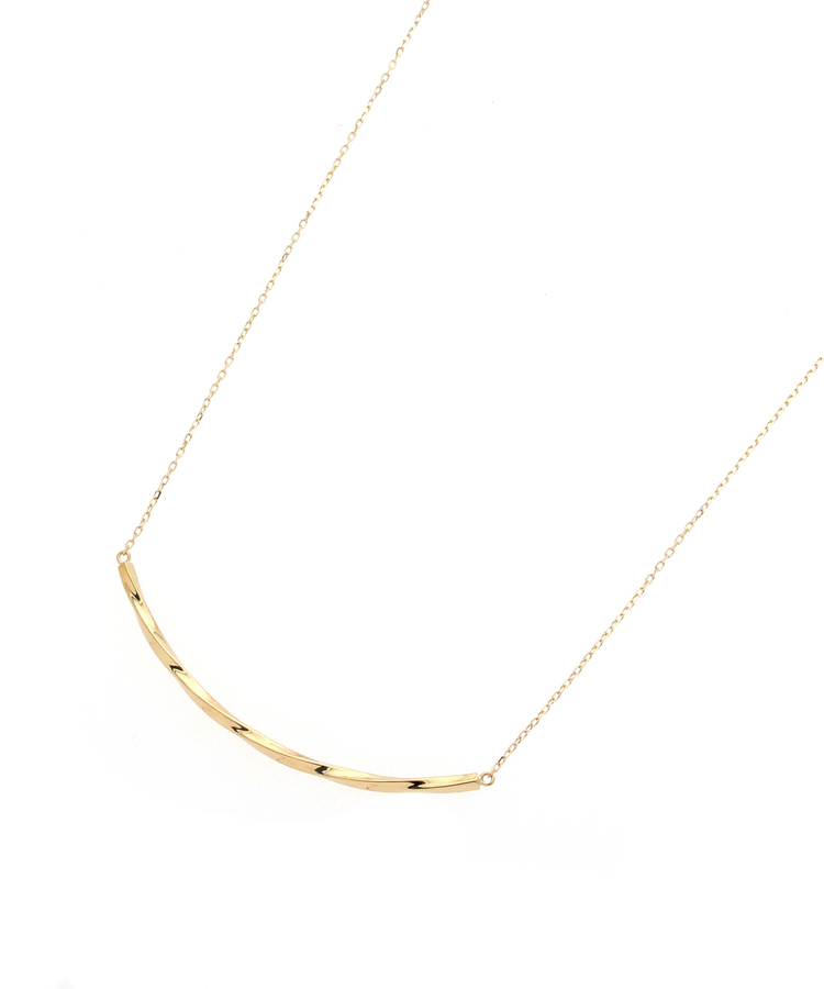 COCOSHNIK(ココシュニック)スライドチェーン スクリューアーチ ネックレス