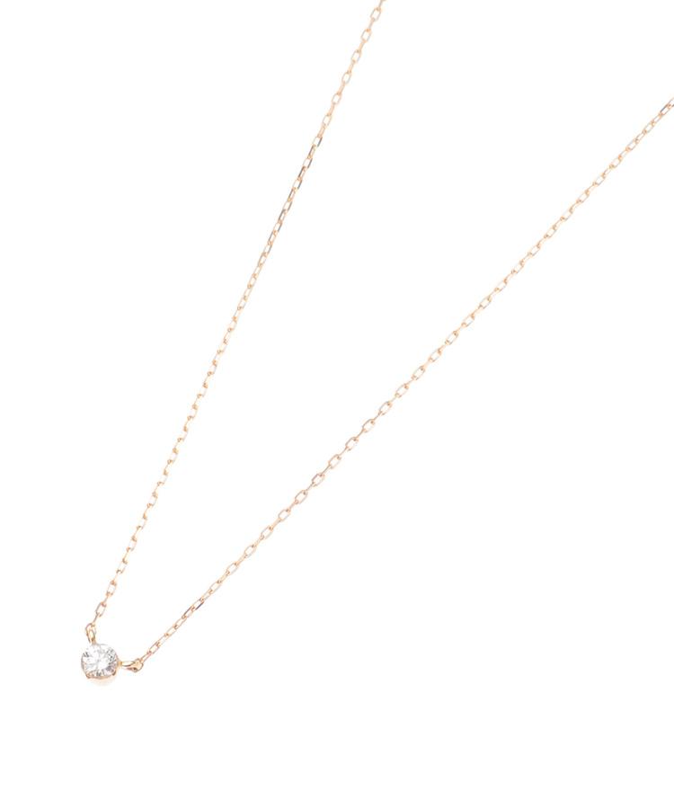 COCOSHNIK(ココシュニック)ダイヤモンドシークレット留 ネックレス大