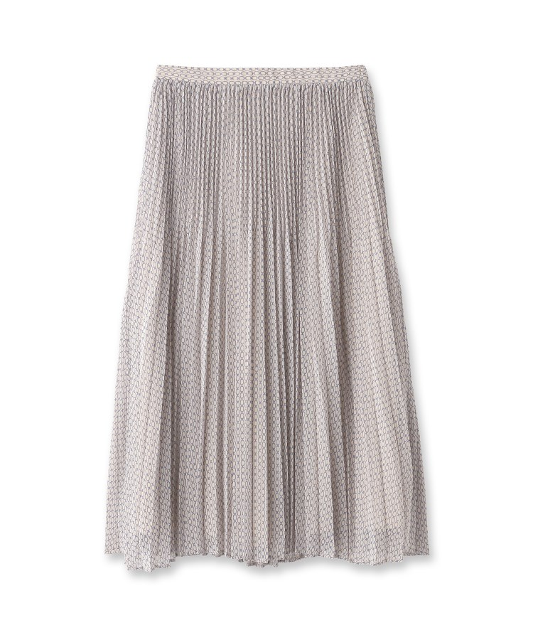 anatelier(アナトリエ)【セットアップ】ビットプリントプリーツスカート