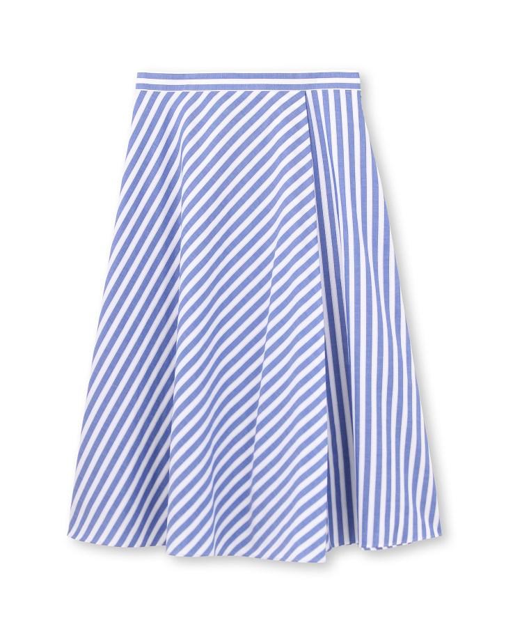 anatelier(アナトリエ)【手洗い可/セットアップ】カラミストライプフレアスカート