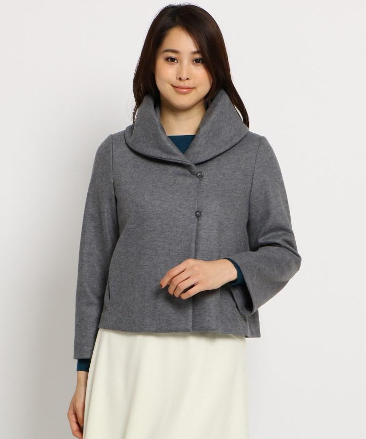 SunaUna(スーナウーナ)ボリュームカラージャケット