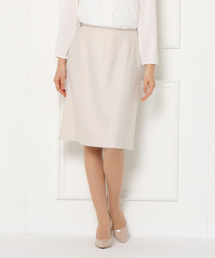 SunaUna(スーナウーナ)ソフティツィード スカート
