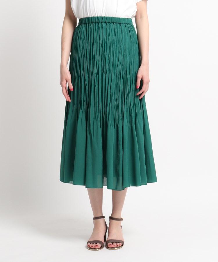 SunaUna(スーナウーナ)【洗える】ランダムプリーツロングスカート