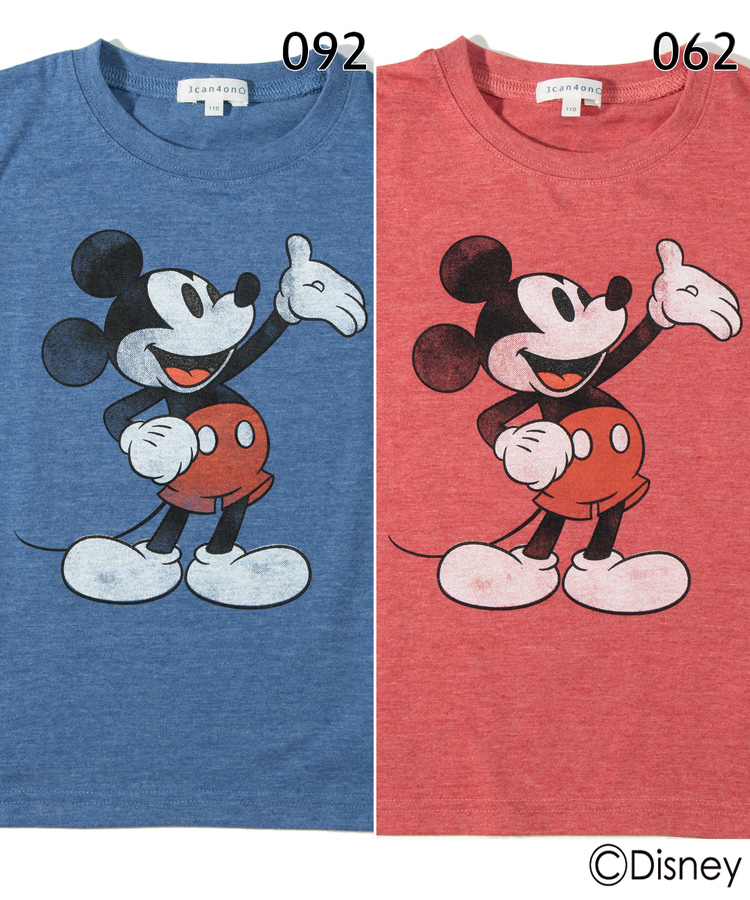 3can4on(Kids)(サンカンシオン(キッズ))通販 <ディズニー>半袖Tシャツ