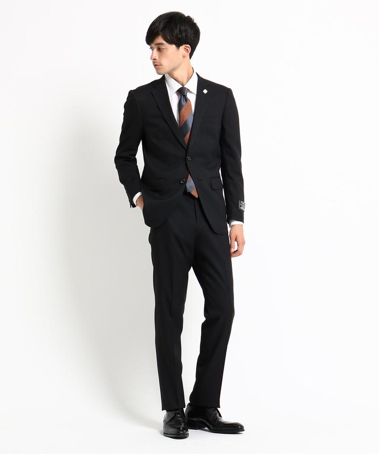 ショップ TK(Men)(ザ THE SHOP ティーケー(メンズ))シャドーストライプウォッシャブルスーツ