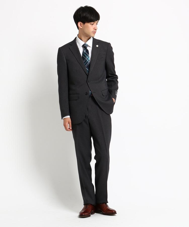 THE SHOP TK(Men)(ザ ショップ ティーケー(メンズ))ベーシックチョークストライプスーツ