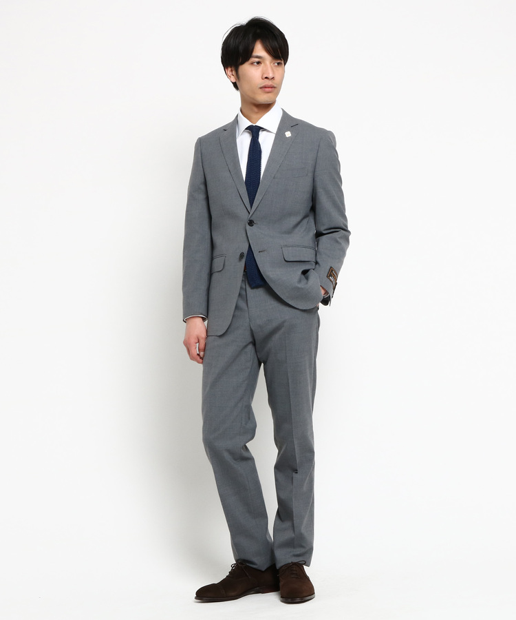 THE SHOP TK(Men)(ザ ショップ ティーケー(メンズ))ウォッシャブル無地スーツ