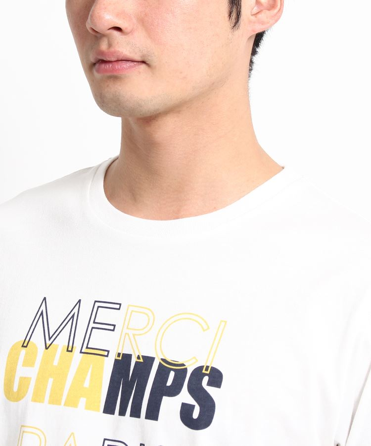 THE_SHOP_TK(Men)(ザ_ショップ_ティーケー(メンズ))通販|カラーロゴプリントTシャツ